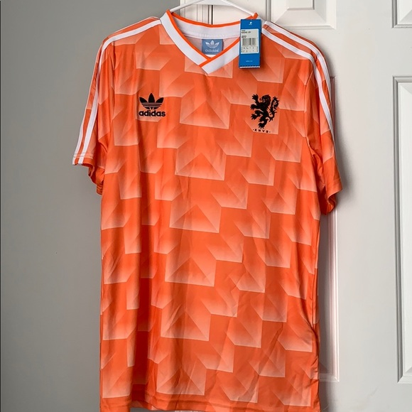 check out 019f9 8ded6 Adidas originals Netherlands retro jersey new Sz M NWT